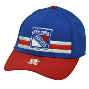 NHL American Needle New York Rangers Flex Fit Large Stretch Hat Cap Sports Blue