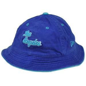 NBA Los Angeles Lakers Sun Bucket Large XLarge Hat Crusher New Era Blue HWC