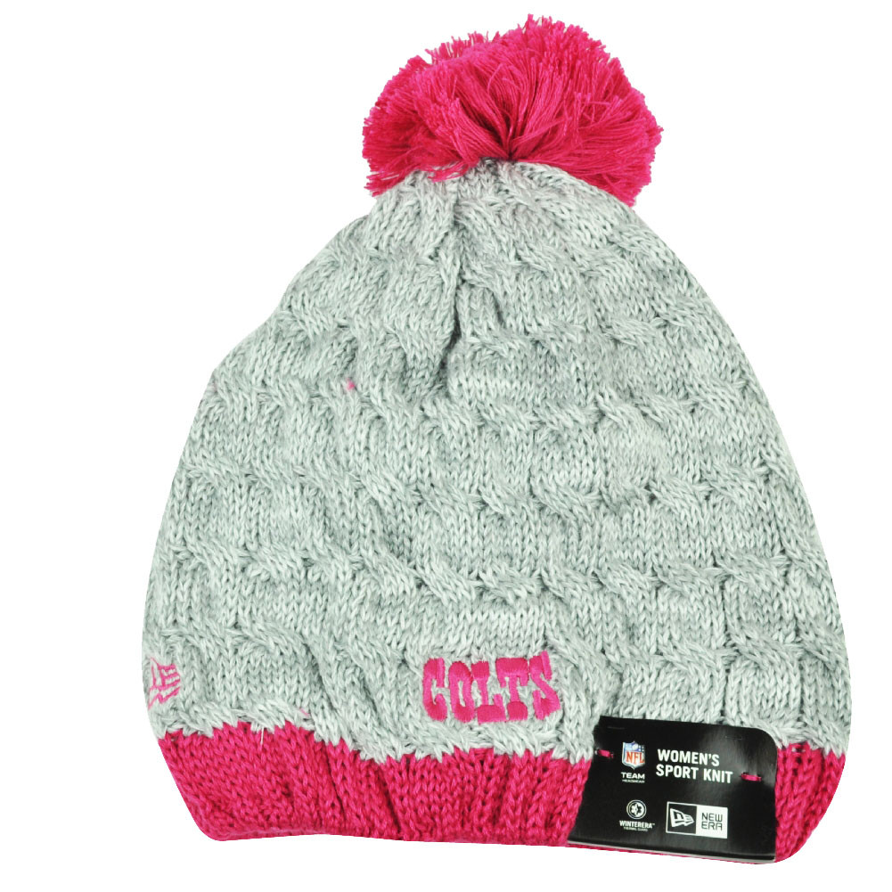NFL New Era Breast Cancer Awareness Knit Beanie Indianapolis Colts Pink  Womens. Your Price   24.95 (You save  0.04). Image 1. Larger   More Photos df63df89a
