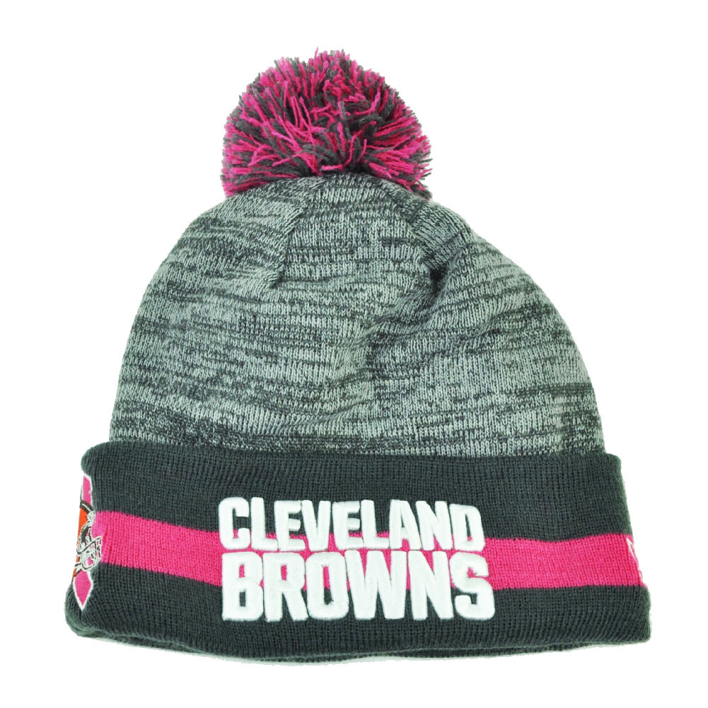 NFL New Era 15 Breast Cancer Awareness Sport Knit Beanie Womens Cleveland  Browns. Your Price   22.95 (You save  2.04). Image 1 5e03b153a