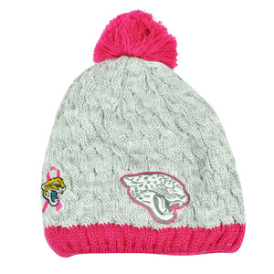NFL New Era Breast Cancer Awareness Knit Beanie Jacksonville Jaguars Pink Womens