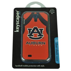 NCAA Auburn Tigers Samsung Galaxy S4 Hard Shell Case Orange Blue Logo Jersey