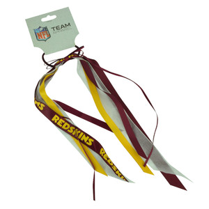 NFL Washington Redskins Hair Bow Red Game Day Women Accessories 6 Piece Hair Set