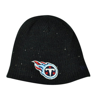 NFL New Era The Glistener Tennessee Titans Sequins Cuffless Womens Knit Beanie