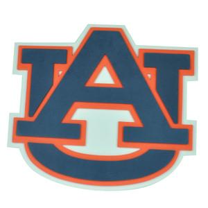 NCAA Auburn Tigers Fan Foam Hand and Wall Sign Foamheads Strap 3D White Blue