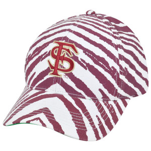 NCAA Florida State Seminoles Noles Top of the World Smash Zubaz Snapback Hat Cap