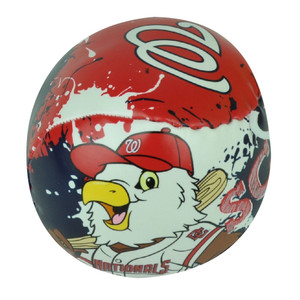 MLB Washington Nationals Baseball Soft Indoor Safe Blue Red Kids Eagle Ball