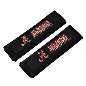 NCAA Alabama Crimson Tide Automobile Seat Belt Pads Set of 2 Covers Shoulder Pad