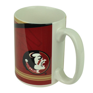 NCAA Florida Seminoles Ceramic Coffee Tea Sculpted Mug Cup Fan Drink Beverage