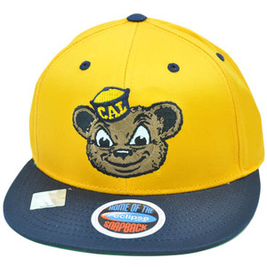 NCAA Cal Berkeley California Golden Bears Eclipse SnapBack Flat Bill Hat Cap