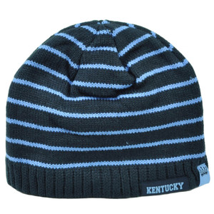 1ca7dd12c4e Kentucky Youth Striped Navy Blue Cuffless Knit Beanie State USA Winter City