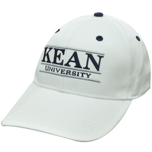 HAT CAP KEAN COUGARS JERSEY NCAA SNAPBACK RETRO BAR WHITE BLUE SILVER LICENSED