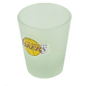 NBA Los Angeles Lakers Shot Glass Alcohol Drinkware Party Printed Logo 2oz Drink