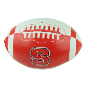 NCAA North Carolina State Wolf Pack Soft Touch 8in Football Indoor Plush Game