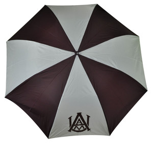 NCAA Alabama A&M Automatic Opening Sport Umbrella StormDuds Folding Maroon White