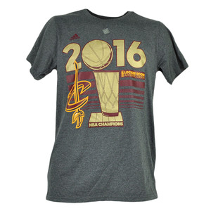 Adidas 2016 NBA Champions Cleveland Cavaliers Locker Room Tshirt Tee Finals