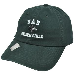 NCAA Top of World Hat UAB Alabama Birmingham Blazers Golden Girls Garment Wash