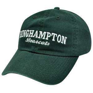NCAA BINGHAMPTON BEARCATS GARMENT WASHED COTTON HAT CAP