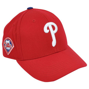 MLB Fan Favorite Philadelphia Phillies Dalrymple Velcro Adjustable Hat Cap