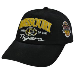 NCAA BCS CHAMPIONSHIP MISSOURI TIGERS BLK HAT CAP