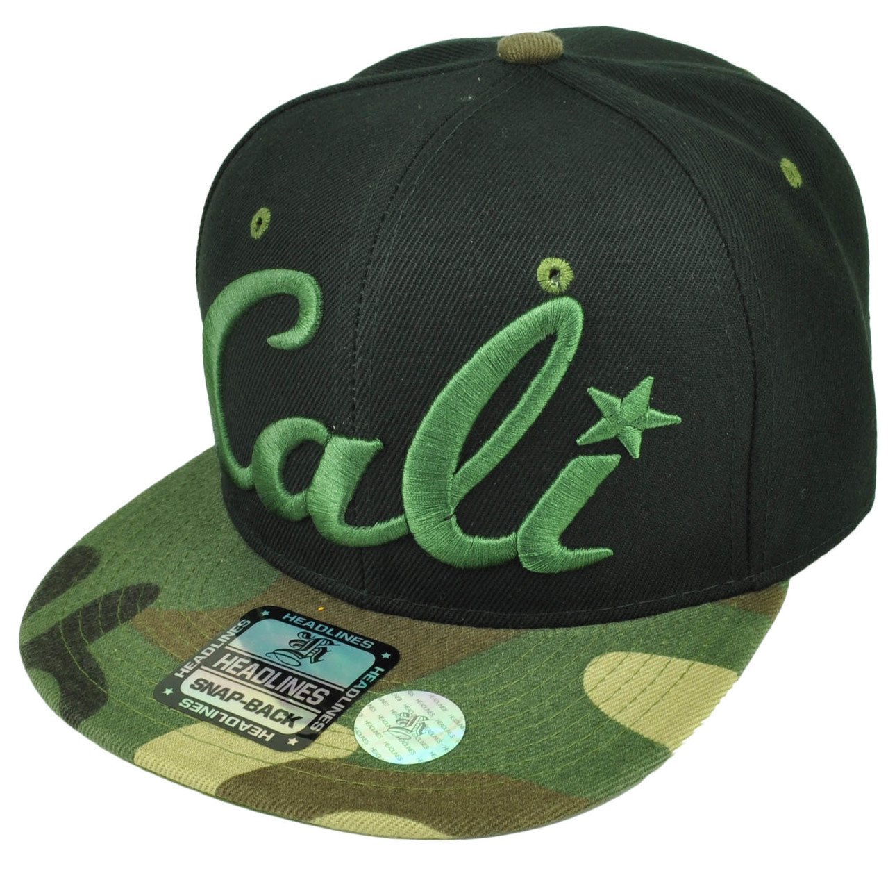 3c59b961634 California Cali Bear Republic Hat Cap Snapback Flat Bill State Camouflage  Camo. Your Price   15.95 (You save  12.05). Image 1