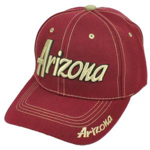 Arizona Grand Canyon State Burgundy USA AZ Adjustable Hat Cap Curved Bill US