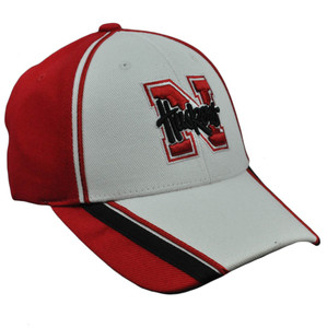 NCAA Nebraska Cornhuskers Hound Dog Unbrush Hat Cap Velcro Adjustable Cotton