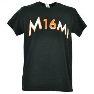 Miami Marlins Jose Fernandez 16 Black Tshirt Tee Baseball Short Sleeve Mens