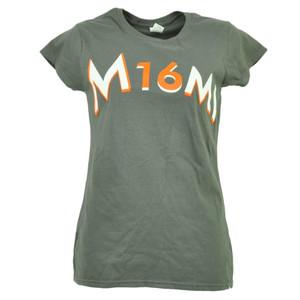 Miami Marlins Jose Fernandez 16 Gray Tshirt Tee Baseball Short Sleeve Womens