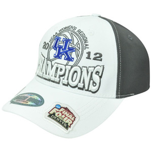 NCAA Women Regional Champions Kentucky Wildcats Final Four Velcro 2012 Hat Cap
