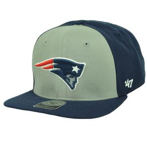 New England Patriots '47 Brand Forty Seven Super Move Flat Bill Hat Cap Navy