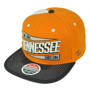 NCAA Zephyr Tennessee Volunteers We Are Since1794 Knoxville Home Stand Hat Cap