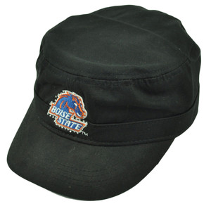 NCAA Boise State Broncos Ladies Cut Women Cadet Style Hat Cap Rhinestone Black
