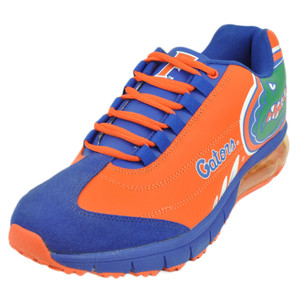 Mens Florida Gators Fergo Urban Sneaker Training Shoe Leather Suede Gator Orange