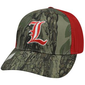 NCAA Louisville Cardinals Freshman Camouflage Adjustable Curved Bill Hat Cap