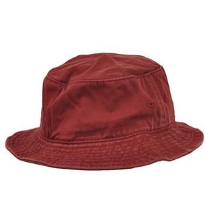 American Needle Faded Burgundy Blank Plain Flex Fit Small Medium Bucket Sun Hat