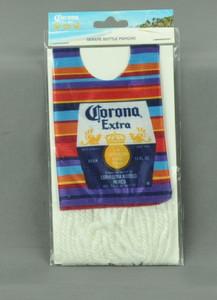 Corona Extra Bottle Poncho Multi Color Serape La Cerveza Mas Fina Acessories