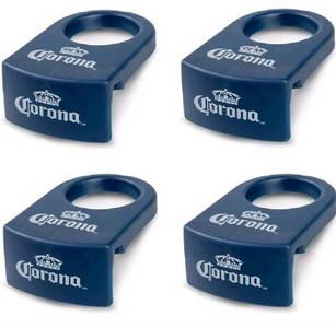 Corona Extra CoronaRita Drink Clip Blue 4 Pack Beer Cerveza Beverage Cup Bar