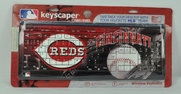 Cincinnati Reds Wireless Keyboard Blue USB PC Team Fan Decoration Baseball