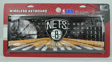 Brooklyn Nets Wireless Keyboard Computer Team Fan Desktop USB Mac PC Basketball