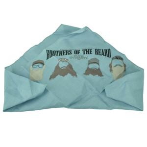 Brothers of the Beard Duck Dynasty Head Bandana A&E Series Blue Tv Show Cotton