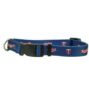 Minnesota Twins Collar Large Adjustable Clip On Hunter Dog Blue Pet Fan Big