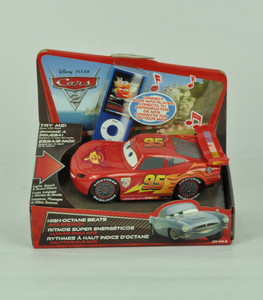 Disney Pixar Cars 2 Lighting McQueen Lights Speech and Sound Effects Gift Toy