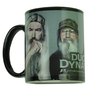 Duck Dynasty Ceramic Black Mug Cup Coffee A&E Tv Series Show Drink Beverage Gift