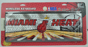 Miami Heat Wireless Keyboard Computer Team Fan Desktop USB Mac PC Basketball