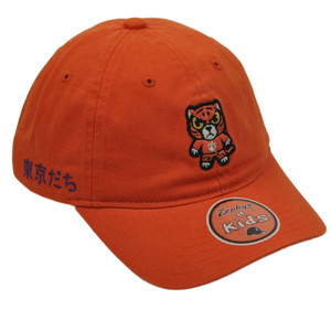 NCAA Zephyr Clemson Tigers Kids Orange Tokyodachi Collection Relaxed Hat Cap