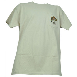 Minnesota MN State Pocket Khaki Angler Cove Fishing Fish Tshirt Tee Mens Adult