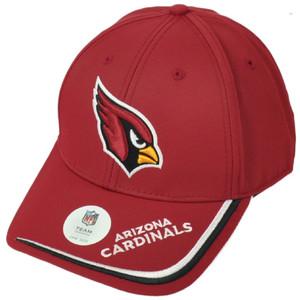NFL Arizona Cardinals Burgundy Hat Cap Adjustable Curved Bill Football