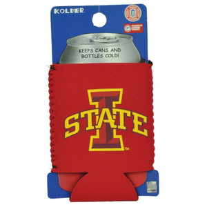 NCAA Iowa State Cyclones Coozies Bottle Drink Coolers Beer Hugger Coolies Red