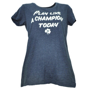 NCAA Adidas Notre Dame Fighting Irish Play Like Champion Large Womens Tshirt Tee